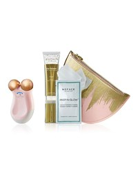 Nuface Gold Mini Express Skin Toning Collection