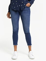 Dl1961 Florence Mid Rise Cropped Skinny Jeans Stranded