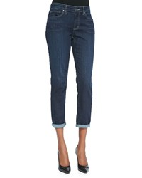 Eileen Fisher Slim Stretch Ankle Jeans Women's Black Indigo