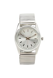 Forever 21 Stretch Band Analog Watch Silver