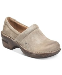 B.O.C. Peggy Clogs Women's Shoes Taupe