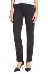 Wit And Wisdom Women's Ab Solution Straight Leg Jeans Black