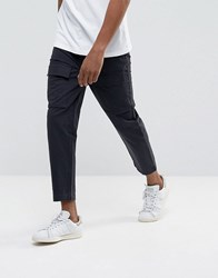 Kiomi Cargo Trousers In Washed Black Washed Black