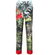 F.R.S For Restless Sleepers Etere Silk Pajama Pants Multicoloured