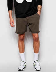 Solid Jersey Shorts Grey