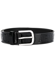 Emporio Armani Buckle Belt Black