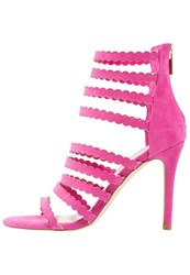 Faith Delilah High Heeled Sandals Pink