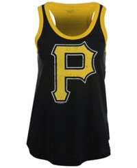 G3 Sports Women's Pittsburgh Pirates Power Play Tank Black Gold