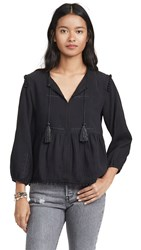 Ayr The Dolly Top Black