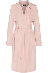 W118 By Walter Baker Woman Marley Twill Trench Coat Blush