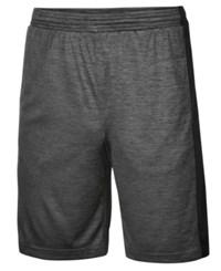 Ideology Id Men's Performance Shorts Created For Macy's Charcoal Heather
