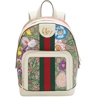 Gucci Multicolor Small Gg Flora Ophidia Backpack