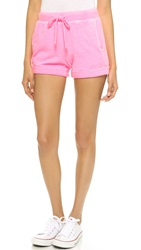 Splendid Slub Active Shorts Neon Pink