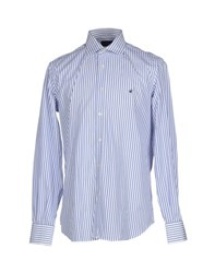 Brooksfield Shirts Shirts Men Blue