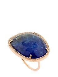 Celine Daoust Tanzanite Rosegold Ring