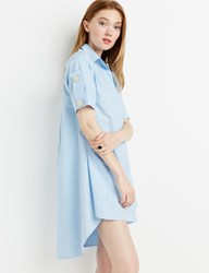 Pixie Market Button Wrap Shirt Dress