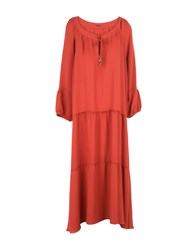 Marc Cain Long Dresses Red