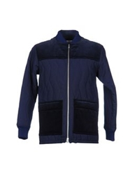 Julien David Jackets Dark Blue