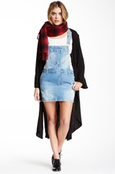 Fire Denim Skirt Overall Juniors Blue