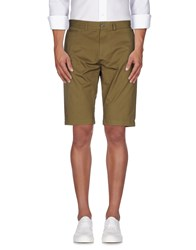 Kai Aakmann Kai Aakmann Trousers Bermuda Shorts Men Military Green