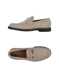 Moschino Moccasins Light Grey