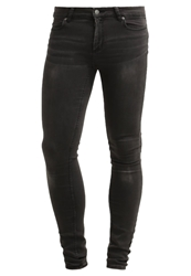 Cheap Monday Him Spray Slim Fit Jeans Spray Great Black Dark Gray