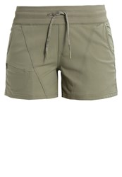 The North Face Aphrodite Sports Shorts Deeplichengreen Mottled Olive