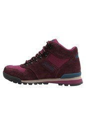 Merrell Eagle Mid Walking Boots Wine Tasting Berry