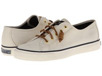 Sperry Seacoast Ivory Women's Lace Up Casual Shoes White