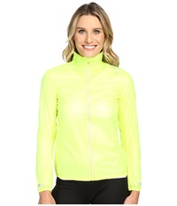 Brooks Lsd Jacket Nightlife Ultra Blue Women's Coat Yellow
