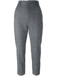 Haider Ackermann Houndstooth Trousers Grey