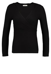 Only Onlmia Long Sleeved Top Black