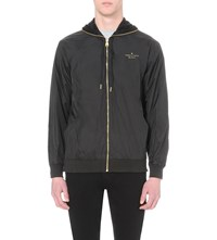 Crooks And Castles Hooded Shell Jacket Black