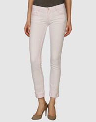Acht Denim Denim Trousers Women Light Pink