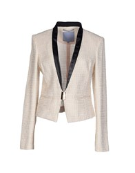 Silvian Heach Suits And Jackets Blazers Women Sand