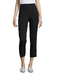 Calvin Klein Solid Cropped Pants Black