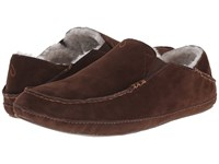 Olukai Moloa Slipper Dark Java Dark Java Slippers Brown
