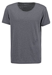 Knowledge Cotton Apparel Basic Tshirt Grey