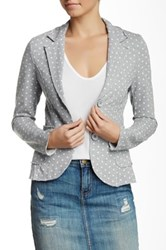 Luma Polka Dot Jacket Gray
