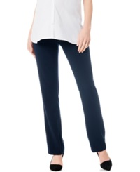 A Pea In The Pod Maternity Secret Fit Belly Bi Stretch Bootcut Suit Pants Navy
