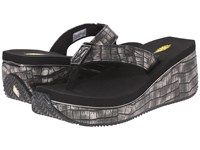 Volatile Corona Black Women's Wedge Shoes