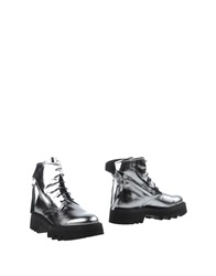 Bruno Bordese Ankle Boots Silver