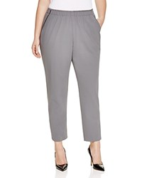 Lafayette 148 New York Plus Piped Track Pants Rock
