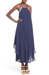 Love Squared Women's Crochet Trim Maxi Dress