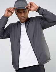 Only And Sons Lightweight Bomber Jacket Grey