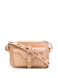 Tom Ford T Twist Shoulder Bag Neutrals