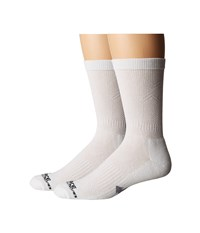 Carhartt Force Extremes Cushion Crew 2 Pair White Men's Crew Cut Socks Shoes