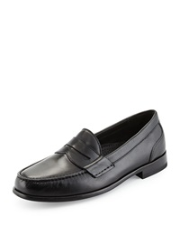 Cole Haan Fairmont Leather Penny Loafer Black