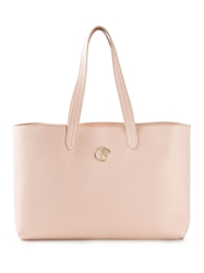 Versace Collection Shopping Tote Pink And Purple