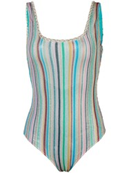 Missoni Mare Striped Knitted Swimsuit 60